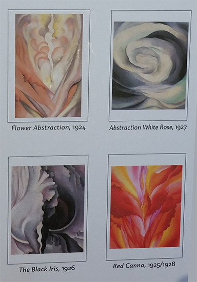 Georgia O'Keeffe's cards